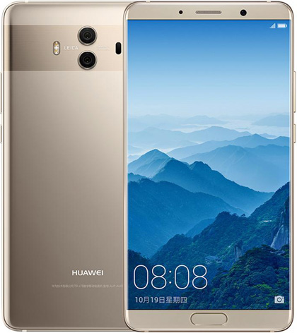 Huawei Mate 10 Cell Phone Gold 128GB 5.9-Inch Brand New Original