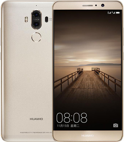 Huawei Mate 9 Cell Phone Champagne Gold 64GB 5.9-Inch Brand New Original