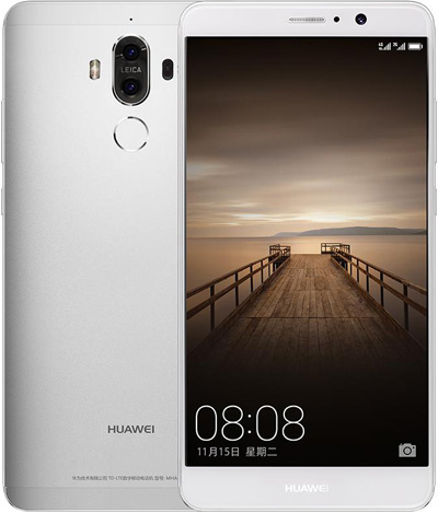 Huawei Mate 9 Cell Phone Silver 32GB 5.9-Inch Brand New Original