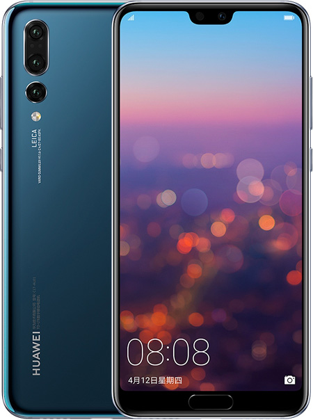Buy Huawei P20 Pro Cell Phone Blue 64GB ROM Online With ...