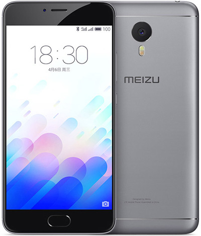 Meizu M3 note(note3) Black Gray 5.5-Inch 32GB Cell Phone Brand New Original