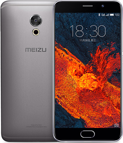 Meizu PRO 6 Plus Cell Phone Gray 64GB 5.7-Inch Brand New Original
