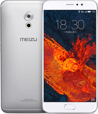 Meizu PRO 6 Plus Cell Phone Silver 128GB 5.7-Inch Brand New Original