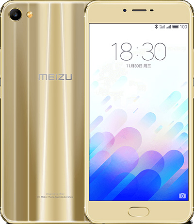 Meizu X Cell Phone Gold 32GB 5.5-Inch Brand New Original