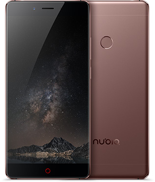 Nubia Z11 Coffee Gold 5.5-Inch Cell Phone Brand New Original