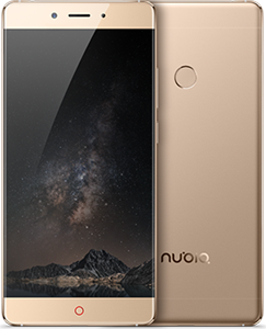 Nubia Z11 Gold 5.5-Inch Cell Phone Brand New Original