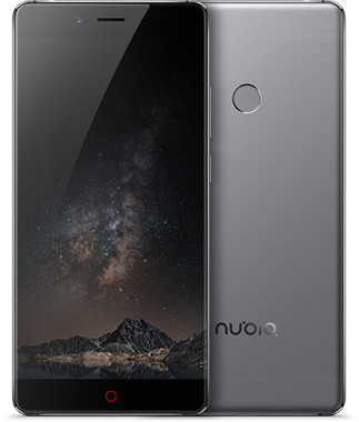 Nubia Z11 Cell Phone Gray 6GB RAM 5.5-Inch Brand New Original