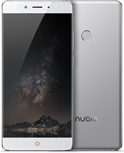 Nubia Z11 Silver 5.5-Inch Cell Phone Brand New Original