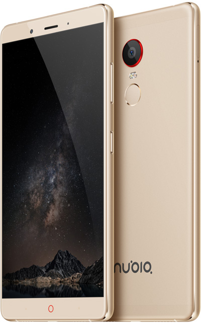 Nubia Z11 Max Gold 6-Inch Cell Phone Brand New Original