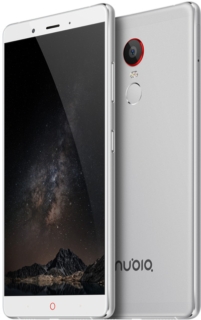Nubia Z11 Max Silver 6-Inch Cell Phone Brand New Original