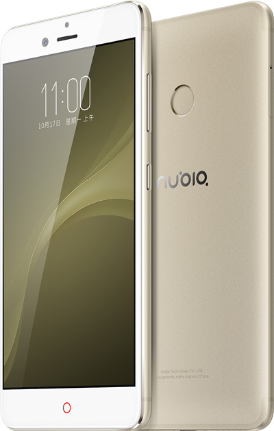 Nubia Z11 Mini S Cell Phone Gold 5.2-Inch Brand New Original