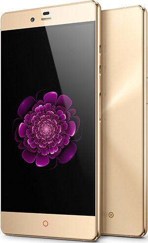 Nubia Z9 Max Elite GOLD 5.5-Inch Cell Phone Brand New Original