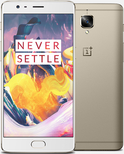 OnePlus 3T Cell Phone Gold 64GB 5.5-Inch Brand New Original