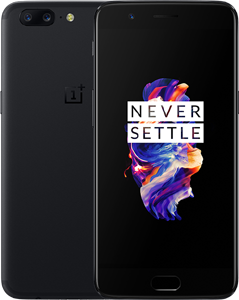 OnePlus 5 Cell Phone Black 128GB 5.5-Inch Brand New Original