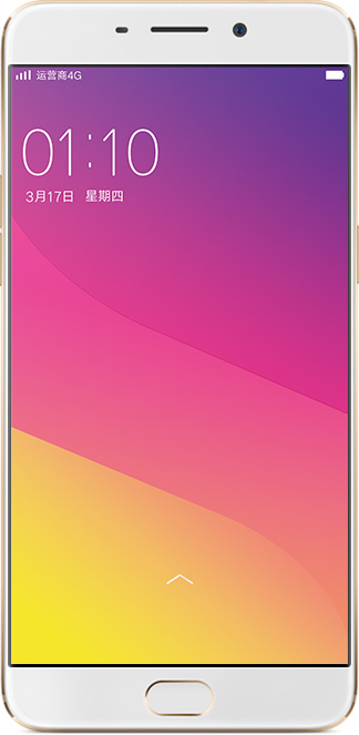OPPO R9 Gold 5.5-Inch Cell Phone Brand New Original