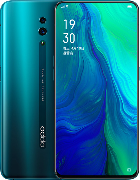 Buy OPPO Reno Cell Phone Green 8GB RAM 256GB ROM Online With