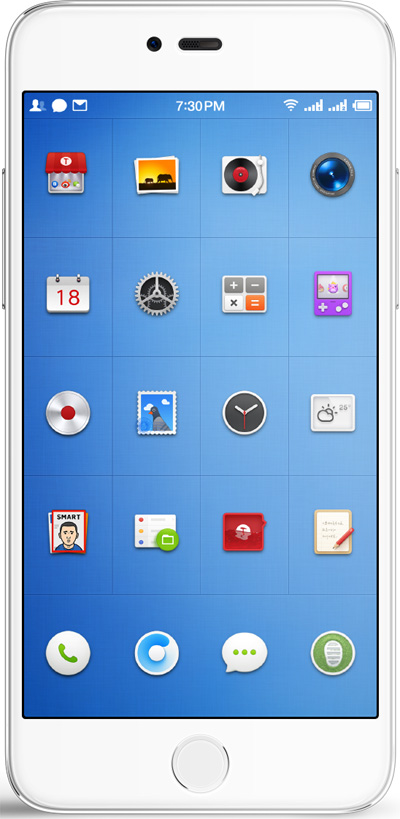 Smartisan M1L Cell Phone White 4GB RAM 5.7-Inch Brand New Original