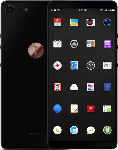 Smartisan Nut Pro 2 Cell Phone Black 256GB 5.99-Inch Brand New Original