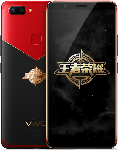 BBK VIVO X20 Cell Phone Limited Edition Red Black 64GB 6.01-Inch Brand New Original