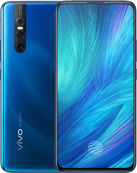 b13223f4dea BBK VIVO X27 Cell Phone Blue 256GB 6.39-Inch Brand New Original