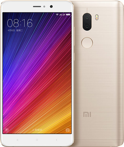 Xiaomi Mi 5S Plus Cell Phone Gold 64GB 5.7-Inch  Brand New Original