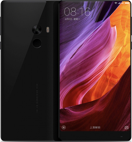Xiaomi MIX Cell Phone Black 128GB 6.4-Inch Brand New Original