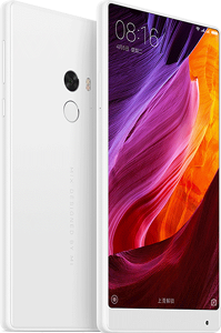 Xiaomi MIX Cell Phone White 128GB 6.4-Inch Brand New Original