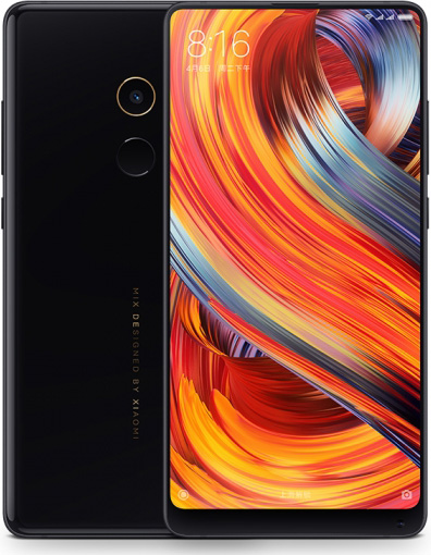 Xiaomi MIX 2 Cell Phone Black 64GB 5.99-Inch Brand New Original