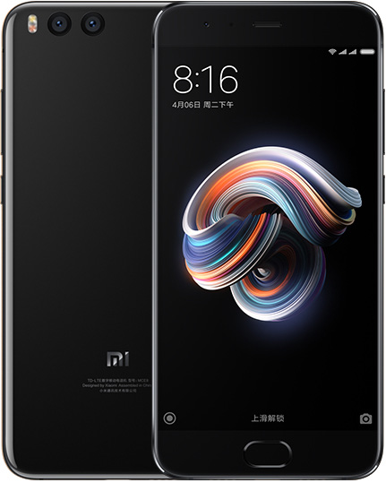 Xiaomi Note 3 Cell Phone Black 128GB 5.5-Inch Brand New Original