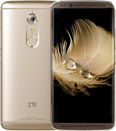Zte AXON 7 Cell Phone 6GB Gold 5.5-Inch Brand New Original