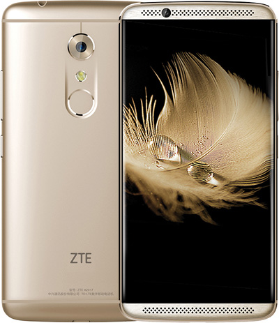 Zte AXON 7 4GB Gold 5.5-Inch Cell Phone Brand New Original